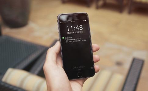 SMS notifikácia