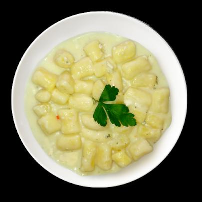 Domáce bezlepkové gnocchi formaggi štyri druhy syra